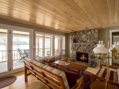 Photo for Beautiful Private Lakefront Cottage
