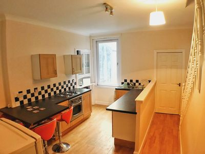 Photo for Gorgeous Fife Coastal Path flat near beach. Perfect for St Andrews golf events