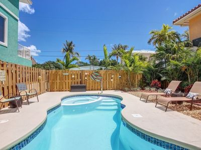 Photo for Book your fall vacation! 4 BR/2BA, Pool/Hot Tub, Ocean Access