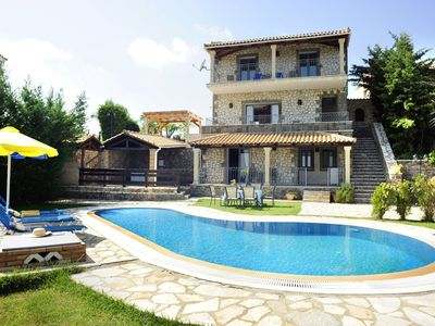 Photo for Stone Villa Petros - 3 bedrooms with private pool & Wi-Fi !!!