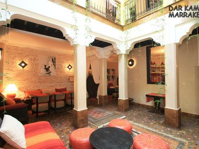 Photo for Marrakech Medina: Live in your riad 'Dar Kamar' Just for you, !!.