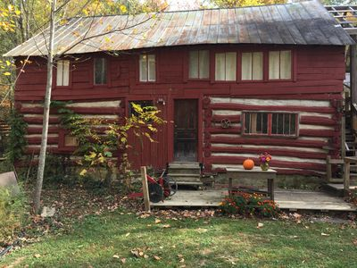 Photo for Bed and Bass!  150 Year Rustic Barn w/Fishing Pond- 13 minutes to downtown AVL