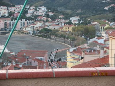 Photo for STUDIO / TERRACE VIEW OF BANYULS BAY