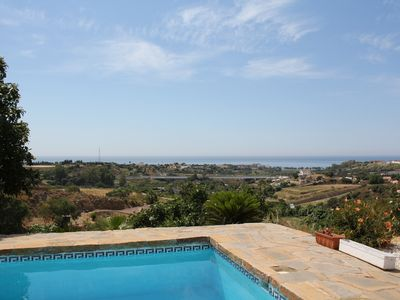 Photo for Holiday house with private pool and fantastic sea views