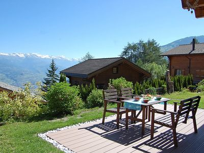 Photo for House in the center of Nendaz with Parking, Internet, Balcony, Garden (37325)