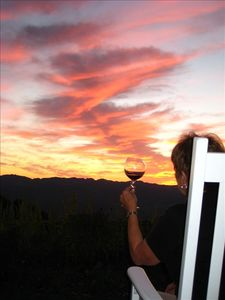 Let's toast to another gorgeous day in the Napa Valley!!!