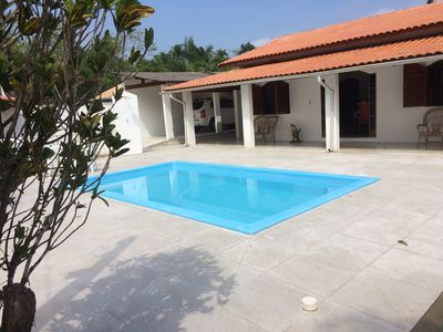 Photo for Large house with pool 100 meters from the beach in Ubatuba.