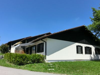 Photo for Holiday house in an Allgäu holiday village with south terrace and mountain view