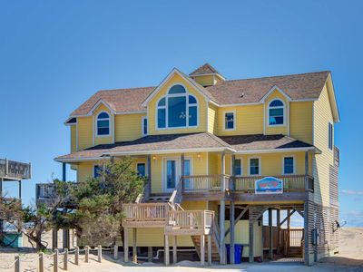 Photo for Avon Oceanfront 5 bed w/ hot tub