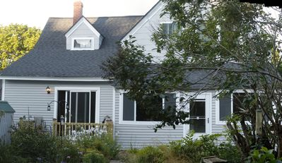 Photo for Downtown Bar Harbor Home With Private Parking And Garden; Acadia Park Close By
