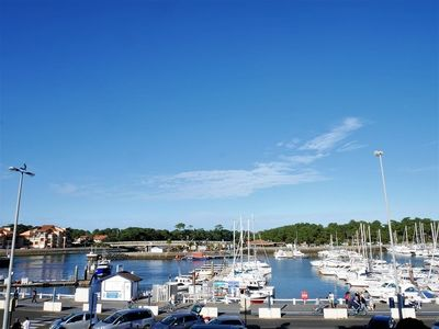 Photo for Great apartment with a view of the Port of Capbreton