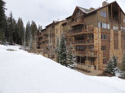 Photo for 5-Star Luxury Ski-In, Ski-Out, Slopeside Pool and Fire pit! Worry-Free Booking!
