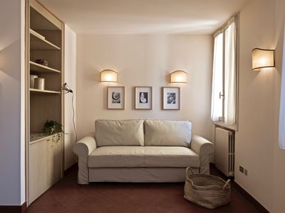 Photo for Beautiful flat in Bologna historical centre