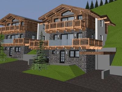 Photo for Spacious and luxurious chalet with private sauna, close to the lift and the slope.