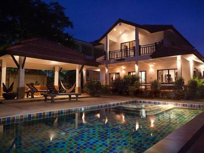 Photo for Luxury Pool Villa at Long Beach - Large and well furnished