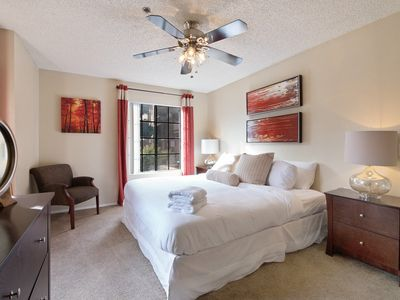 Photo for Modern Suite + Pool + Fitness Center + BBQ