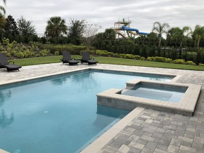 Photo for 11 Bedroom Luxury house with Large Pool + SPA +Grill+Pool Table + Movie Theater