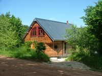 Cosy chalet, great nature, very recommendable.