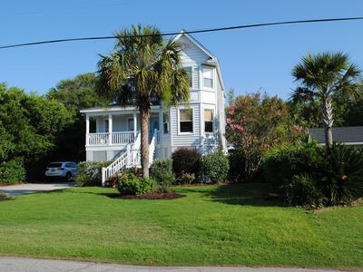 Photo for Family Home w/ Private Pool & A two min. walk to the Beach. Lots of extras