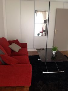 Photo for Charming 2 rooms 10 minutes from the Eiffel Tower + private parking and terrace