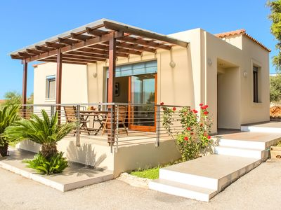 Photo for Charming house with beautiful sea view on Souda Bay !