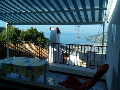 Photo for Sea hillyhouse in an ancient village.walking excursions,cycle paths by the beach