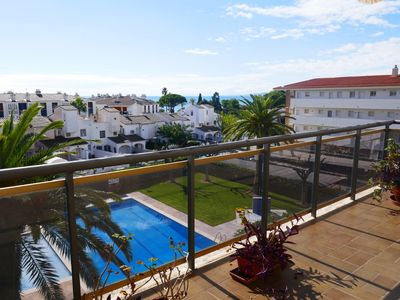 Photo for 50 m beach! Near downtown! Swimming pool! Terrace of 18 m2, facing south! Wireless!!!