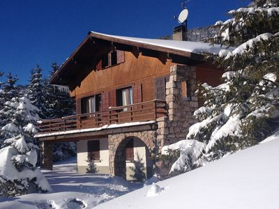 Photo for Montgenèvre - Chalet in front of Chalmettes chair lift / ticket office