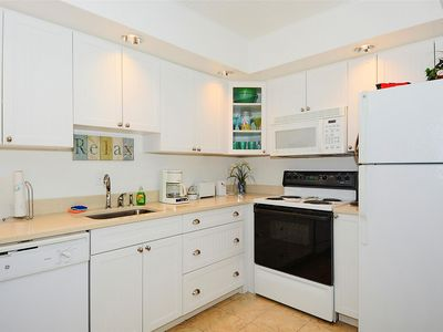 Photo for FREE DAILY ACTIVITIES! LINENS INCLUDED*! Beautiful, updated, comfortable 2 bedroom/2 bath unit. Nice northern ocean and bay views.