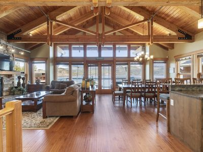 Photo for Lakefront Shuswap Lodge -  Perfect for large groups!