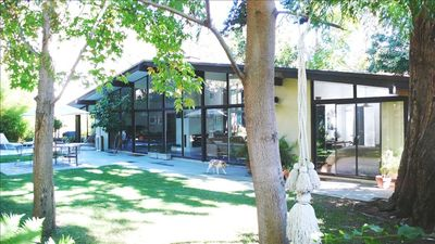 Photo for Malibu, Mid-Century House, Private Beach Club, Indoor/Outdoor