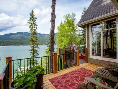 Photo for Quiet End of the Lake,Private Dock,Gorgeous Deck,loved by guests