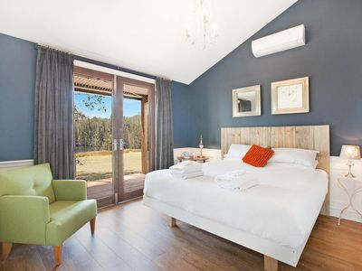 Photo for Hunter Valley Tree Tops Villa Private Vineyard Includes Breakfast, Wine, Cheese