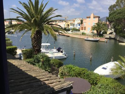 Photo for Holidays overlooking Port Grimaud, close to Saint-Tropez
