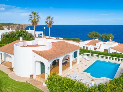 Photo for Villa Caprice: Large Private Pool, Walk to Beach, Sea Views, WiFi, Car Not Required, Eco-Friendly