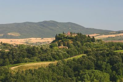 Beautiful Tuscan View from the Apartment