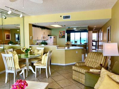 Photo for Aug 3-10 OPEN Direct Beach Front Condo Fit Flops Needed! FREE Beach Chair Setup