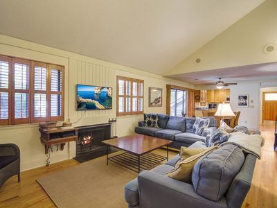 Photo for Lovely cottage with beautiful views & screened porch - easy walk to beach/ park!