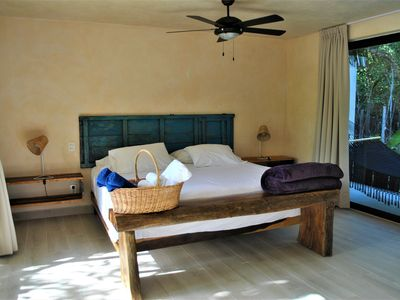Photo for SUNSET Tropical standar room, STEPS FROM THE BEACH