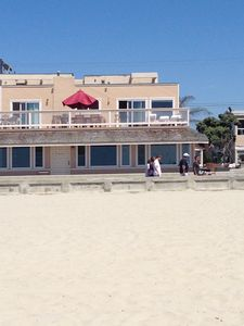 Beach view: this listing is the downstairs unit.  Upstairs is property #208568.