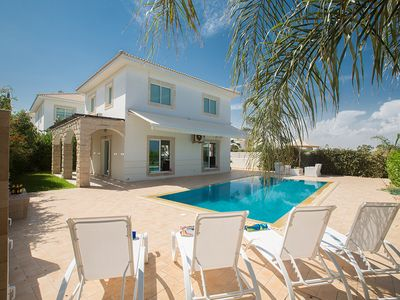 Photo for Villa Sasha, Modern 3BDR Ayia Triada Villa with Pool, Close to the Beach