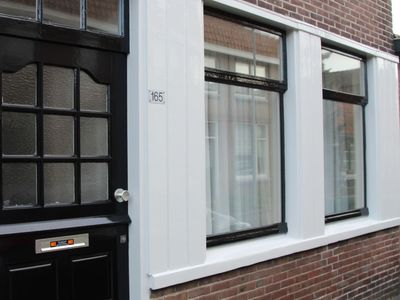 Photo for Hip city apartment for 2 people, near the city centre of Alkmaar and near the sea