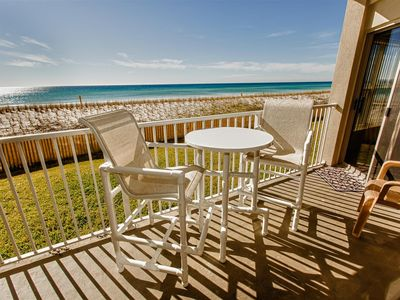 Photo for ETW 1001: Renovated 1st Floor Convenience with a Perfect Gulf View! 2BR/2B