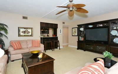 Photo for Firethorn 821 - 2 Bedroom Condo with Private Beach with lounge chairs & umbrella provided, 2 Pool...