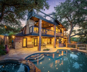 Photo for Hummingbird Hideaway- Canyon Lake Waterfront with pool and hot tub!