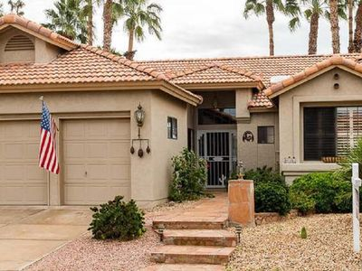Photo for Spacious home with backyard oasis, 2 bdrms, 2 1/2 baths, den and office area