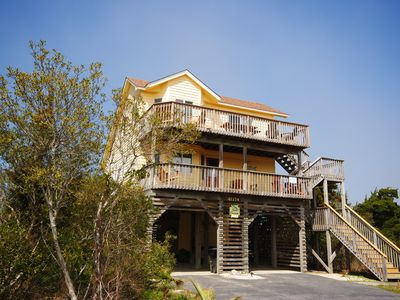 Photo for Sea's Calling - Comfy Soundside Home in Kinnakeet Shores - EZ Walk to Beach