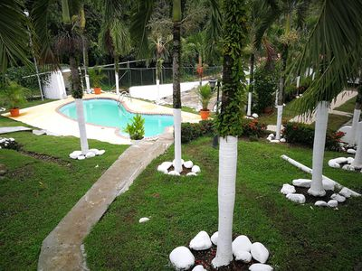 Photo for Superb bungalow, 4 persons, aircon, wifi, pool, quiet location, close amenities