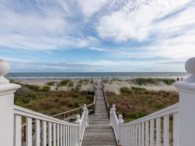 Photo for Beachfront Charleston Lowcountry Living: 6BR/4.75BA glorious Views, Elevator, ++