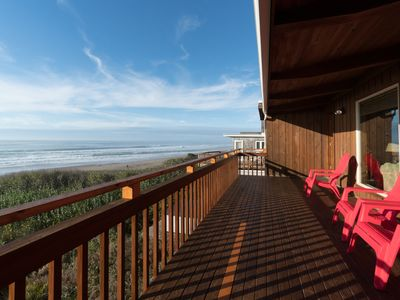 Photo for Experience Oceanfront Oasis in this three bedroom home on the OR coast!